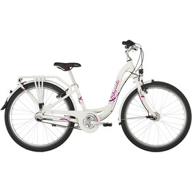 "Puky Skyride Light 24"" Børnecykel 3-trins hvid"